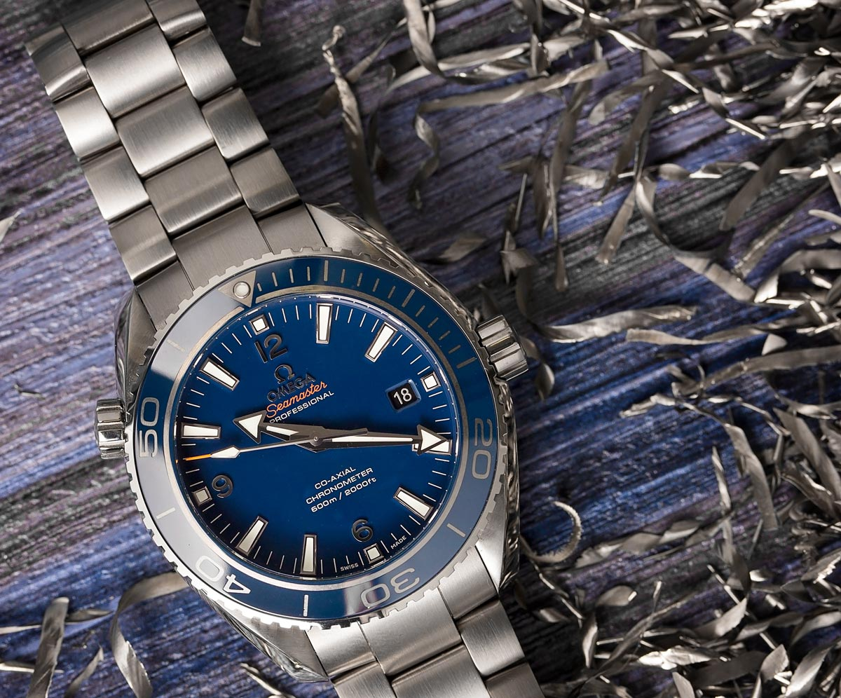 Rolex vs Omega Seamaster Planet Ocean Titanium
