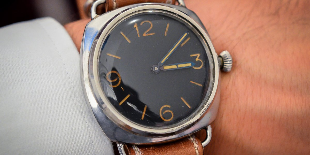 History of Rolex Military Watches Panerai 3646