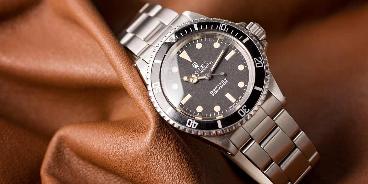 The Rolex ref. 5513 was only rated up to