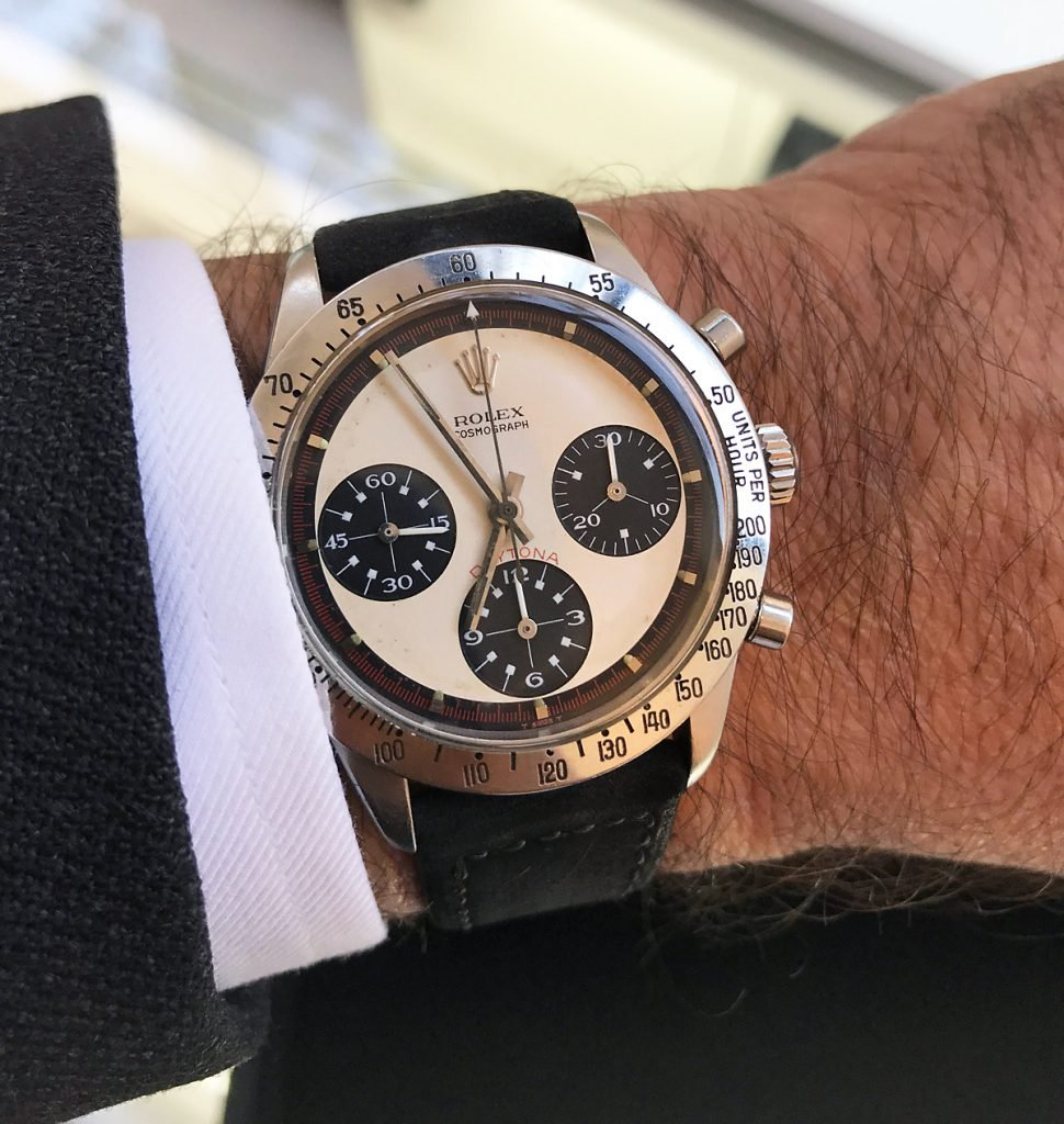A Vintage Rolex Daytona with a Paul Newman ref 6239.