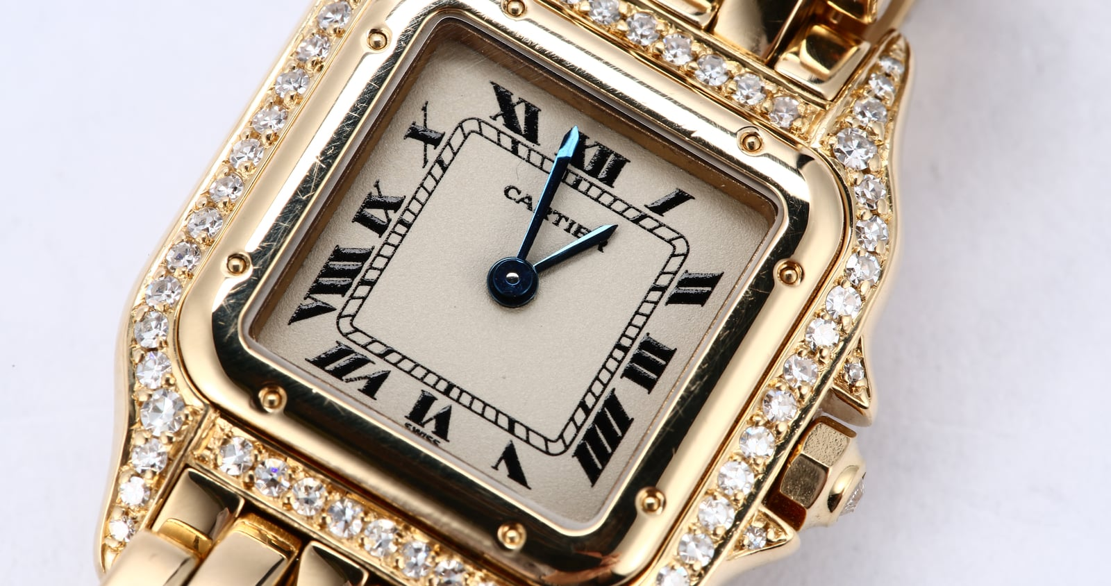 for mens tank anglaise original gold sale watches pink quality cartier