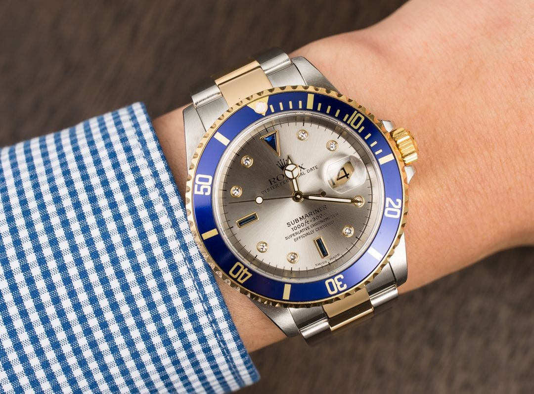 4 Ways to Wear a Men's Rolex Diamond Dial