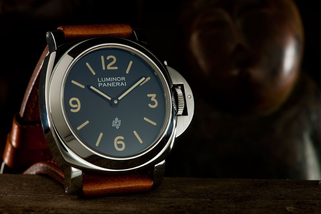 Panerai watches are best known for their hefty build and waterproof case
