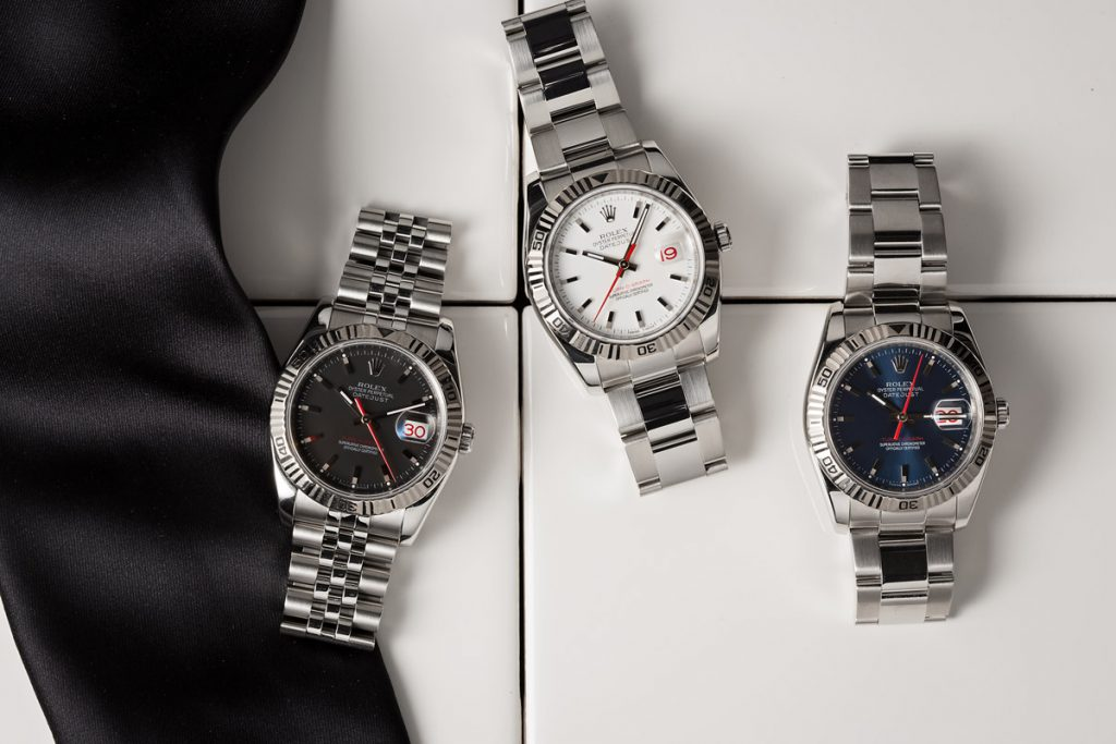 Rolex now offers four different case sizes for their best-selling line