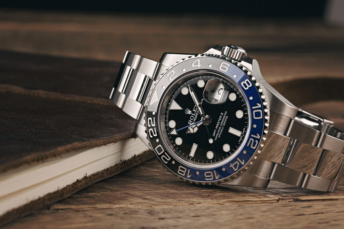 Stainless Steel Rolex GMT-Master II Batman 116710BLNR