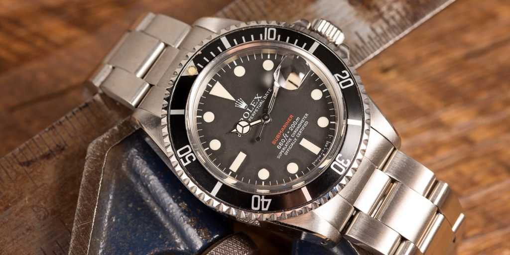 The Rolex Submariner 1680 keeps getting better with age