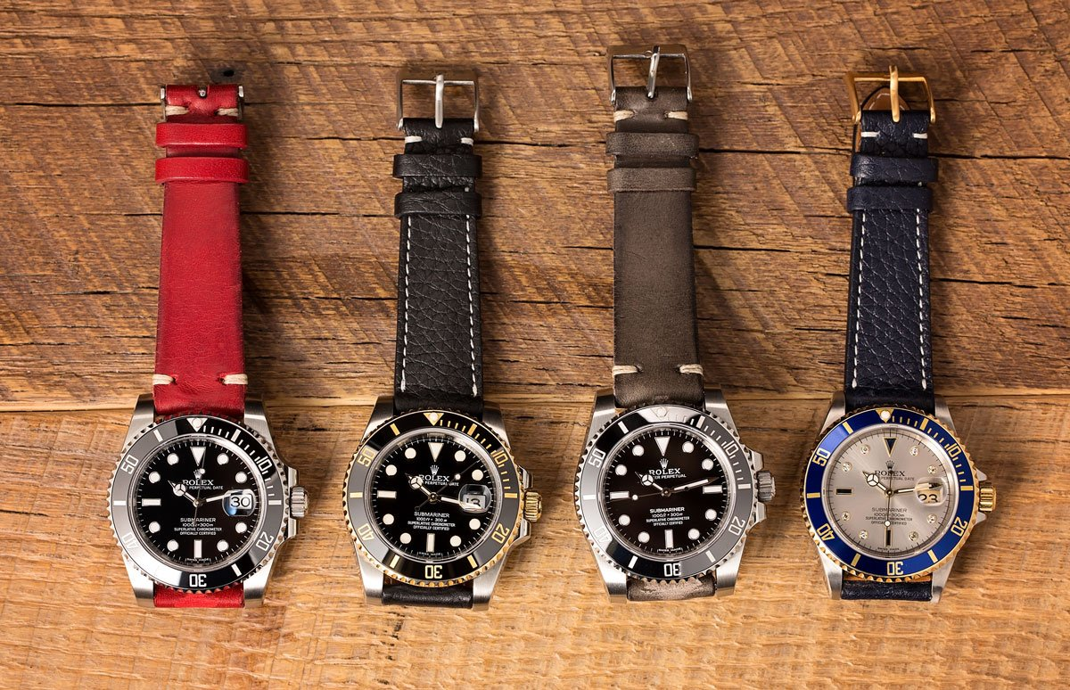 Rolex Leather Straps