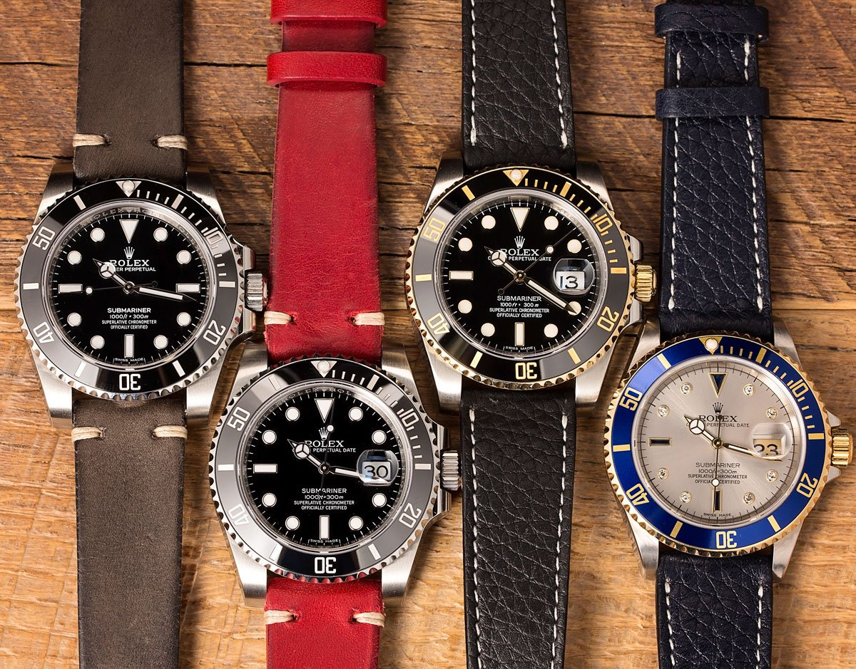 Why Two-Tone Rolex Submariner Date Most Popular Dive Watch
