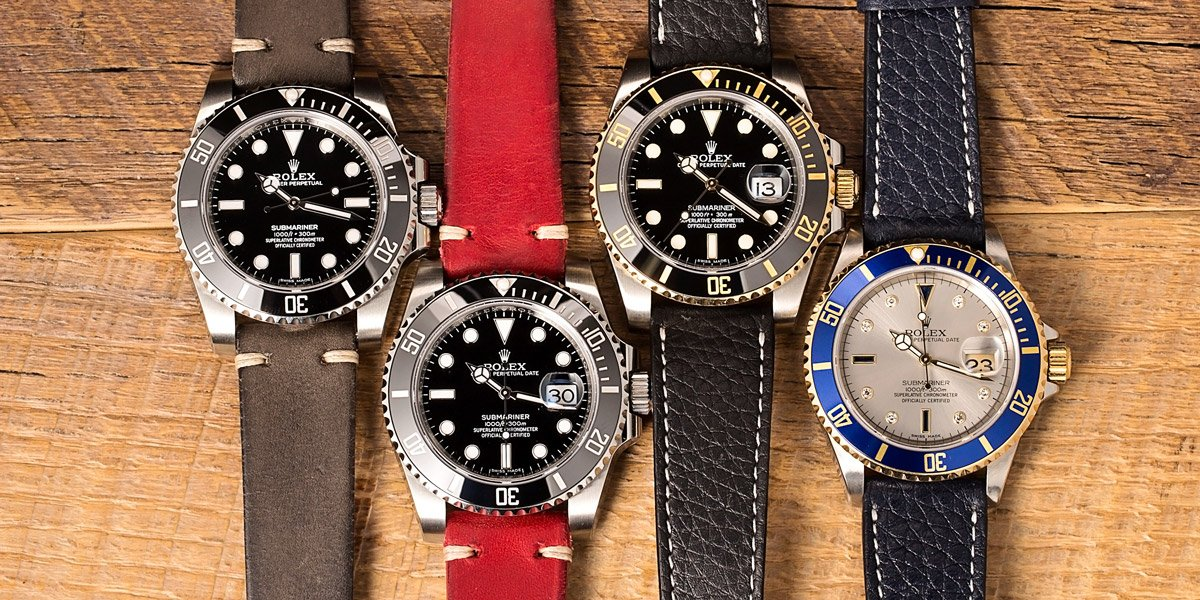 First Rolex Submariner Collection