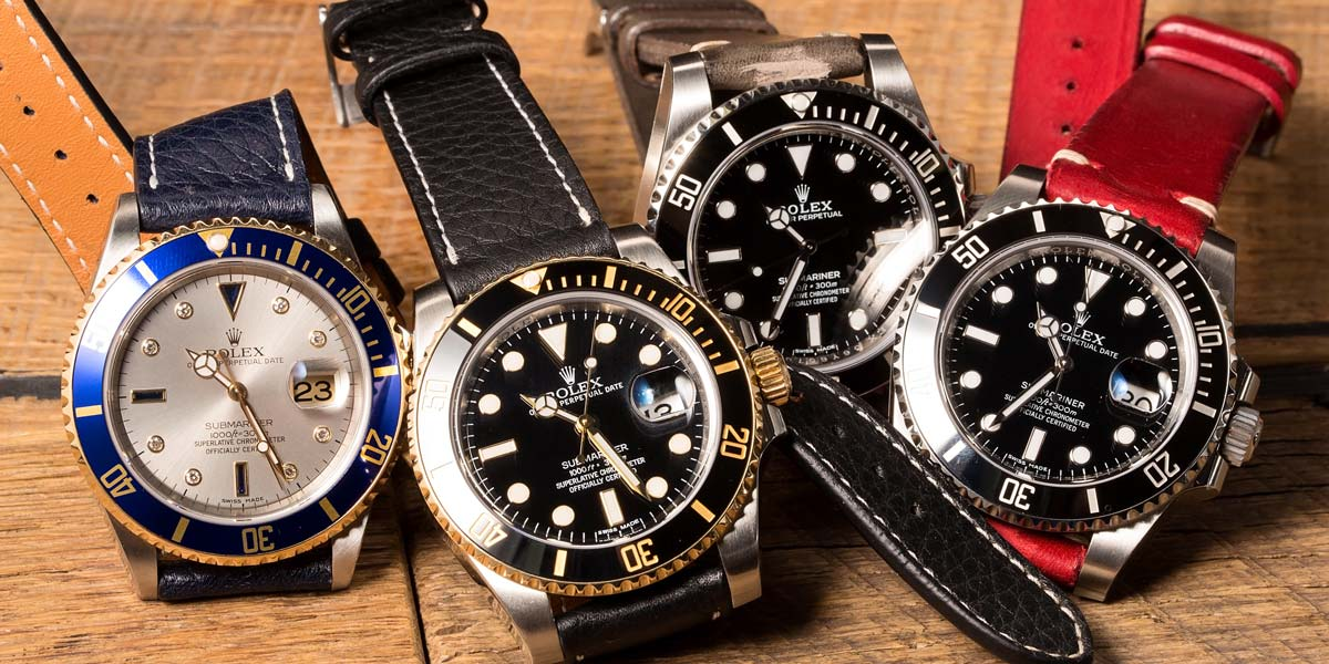 Luxury Watches and Insurance rolex submariner
