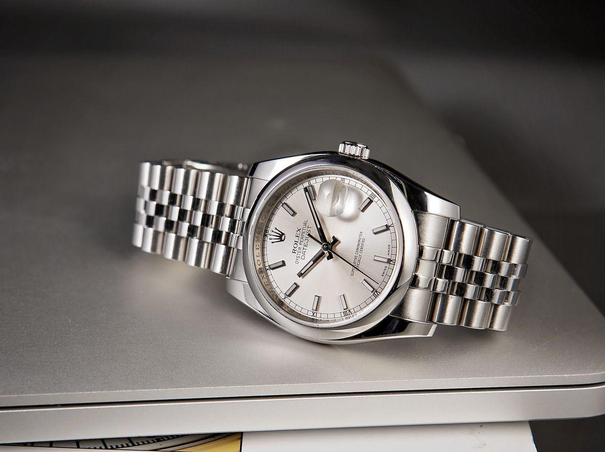 Stainless Steel Rolex Datejust 36 116200