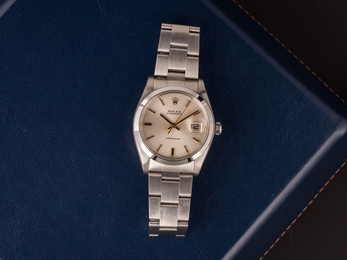 Rolex Oysterdate Precision 6694 Review Ultimate Buying Guide