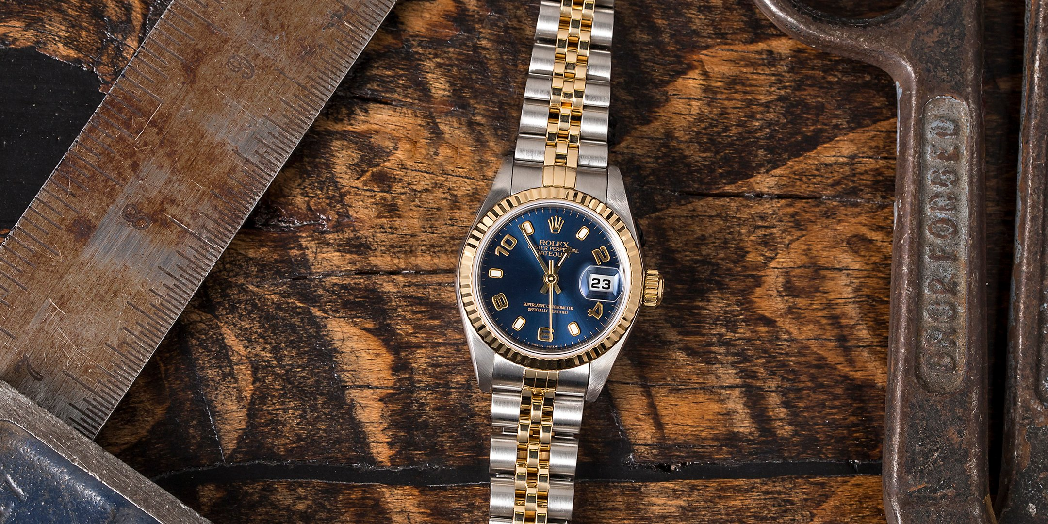 What Is the Most Worn Rolex Watch? Lady-Datejust Two-Tone