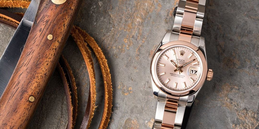 Rolex Oyster Perpetual Datejust Lady Everose