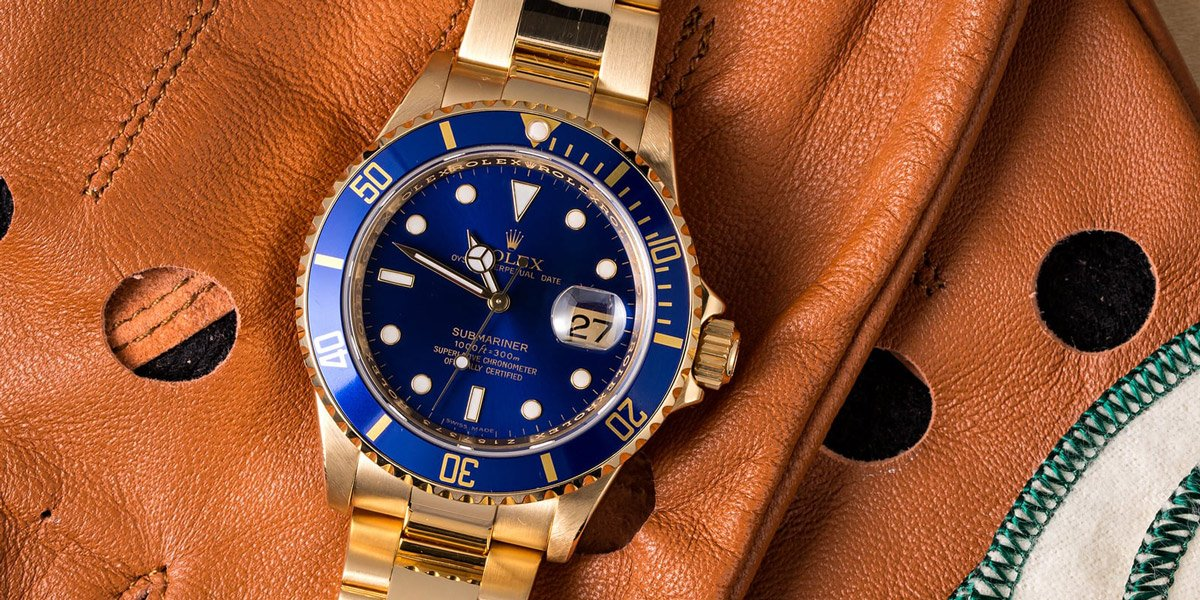 Rolex Watches Blue Dial Buying Guide Submariner 16618