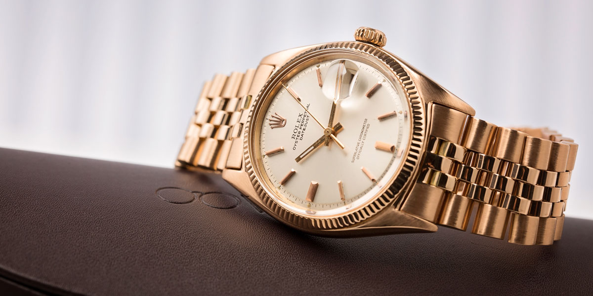 Rose Gold Datejust 1601