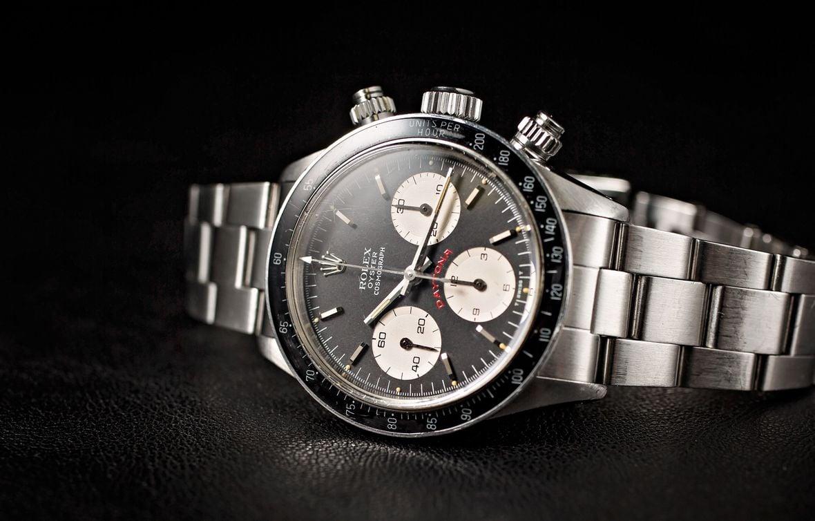 Vintage Rolex 6263 Daytona Black Dial