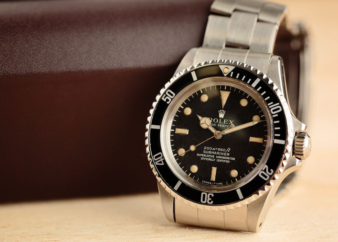 Vintage Rolex Submariner 5512 4-Line Matte Dial