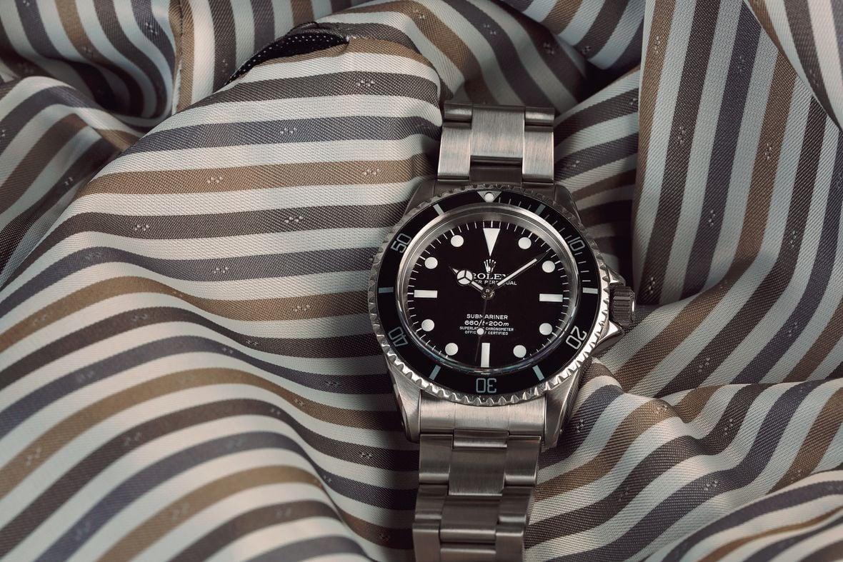 Vintage Rolex Submariner 5512 4-line dial