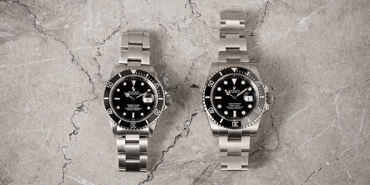 How to tell Rolex reference number - Rolex Submariner 16610 116610