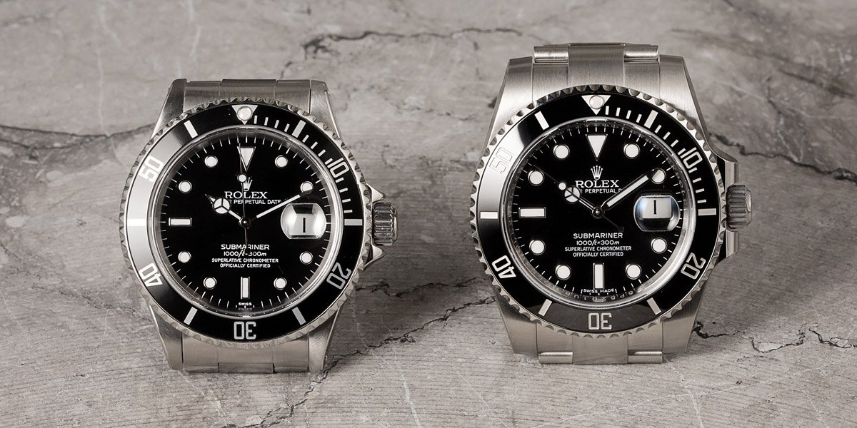 Rolex Submariner Different Bezels Types Aluminum vs Ceramic