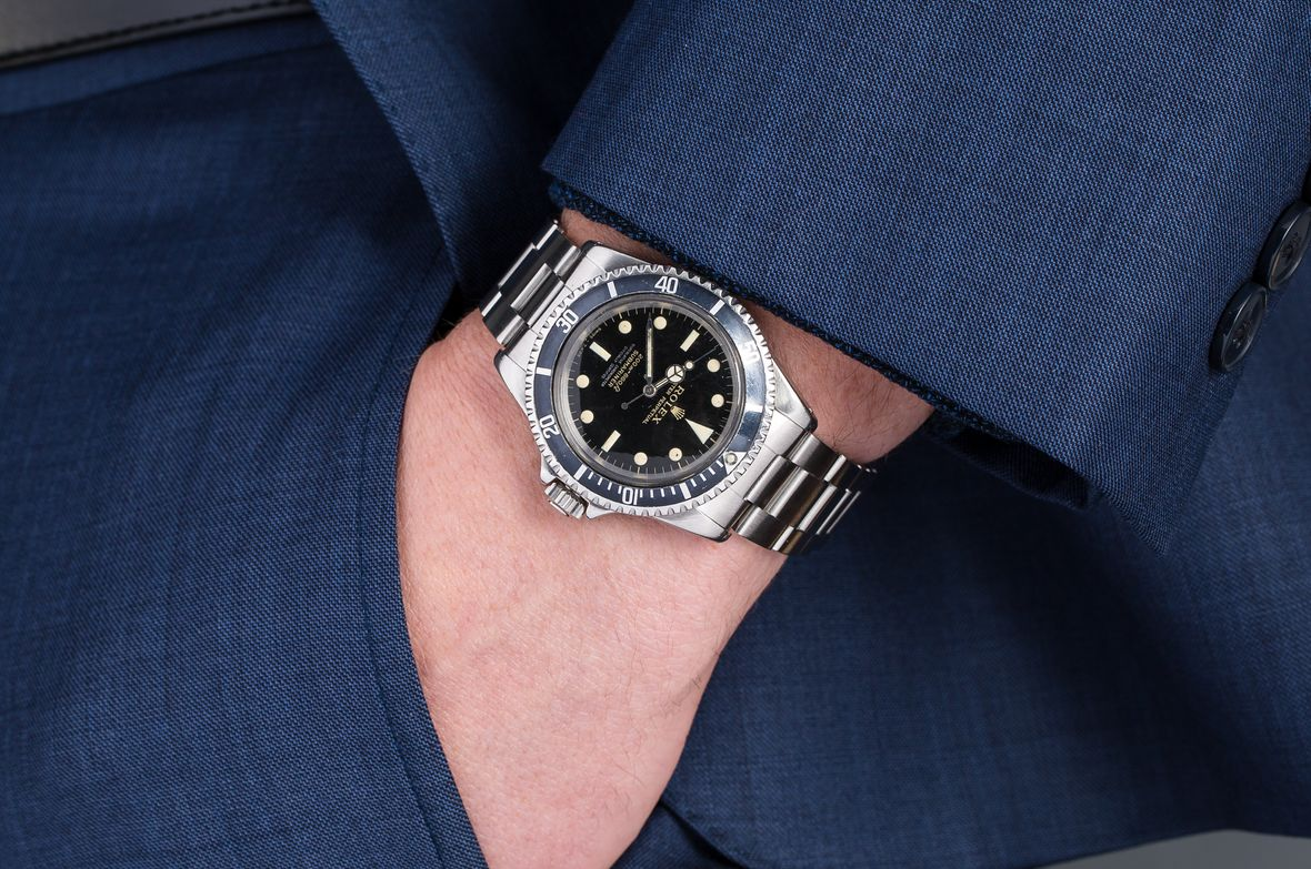 Vintage Rolex Submariner 5512 Gilt Dial Ghost Bezel