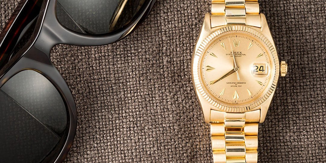 Rolex Champagne Dial
