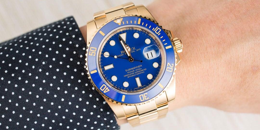 Blue Submariner