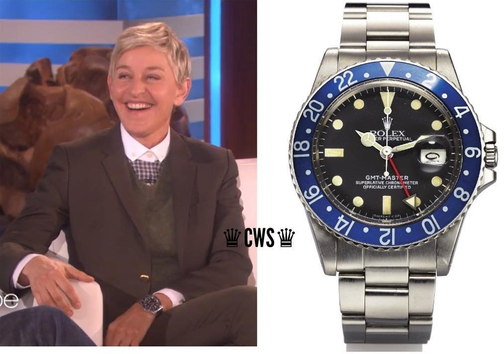Ellen DeGeneres Watches