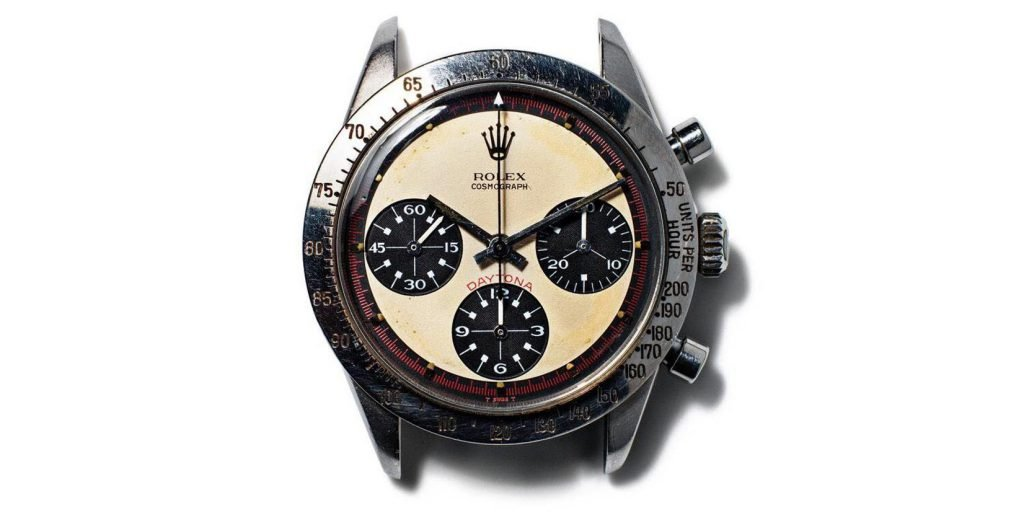 Paul Newman famously wore a Rolex Daytona Chronograph every day