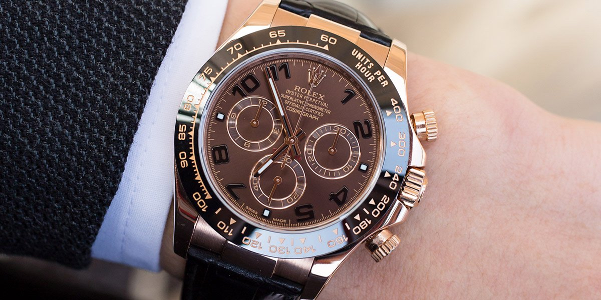 Rolex Chocolate Daytona