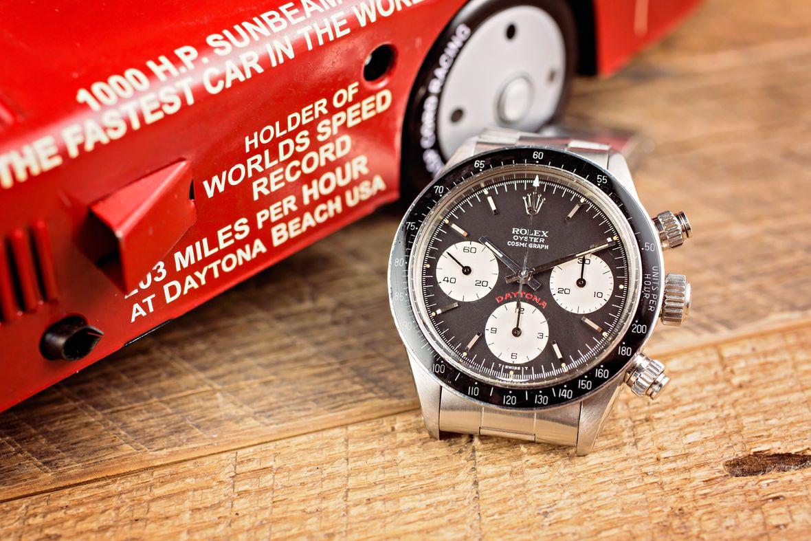 Rolex Big Red Daytona 6263 Black Dial