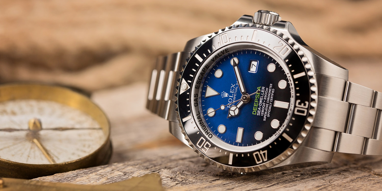 Rolex Watches Sea-Dweller Deepsea James Cameron B-Blue Dial