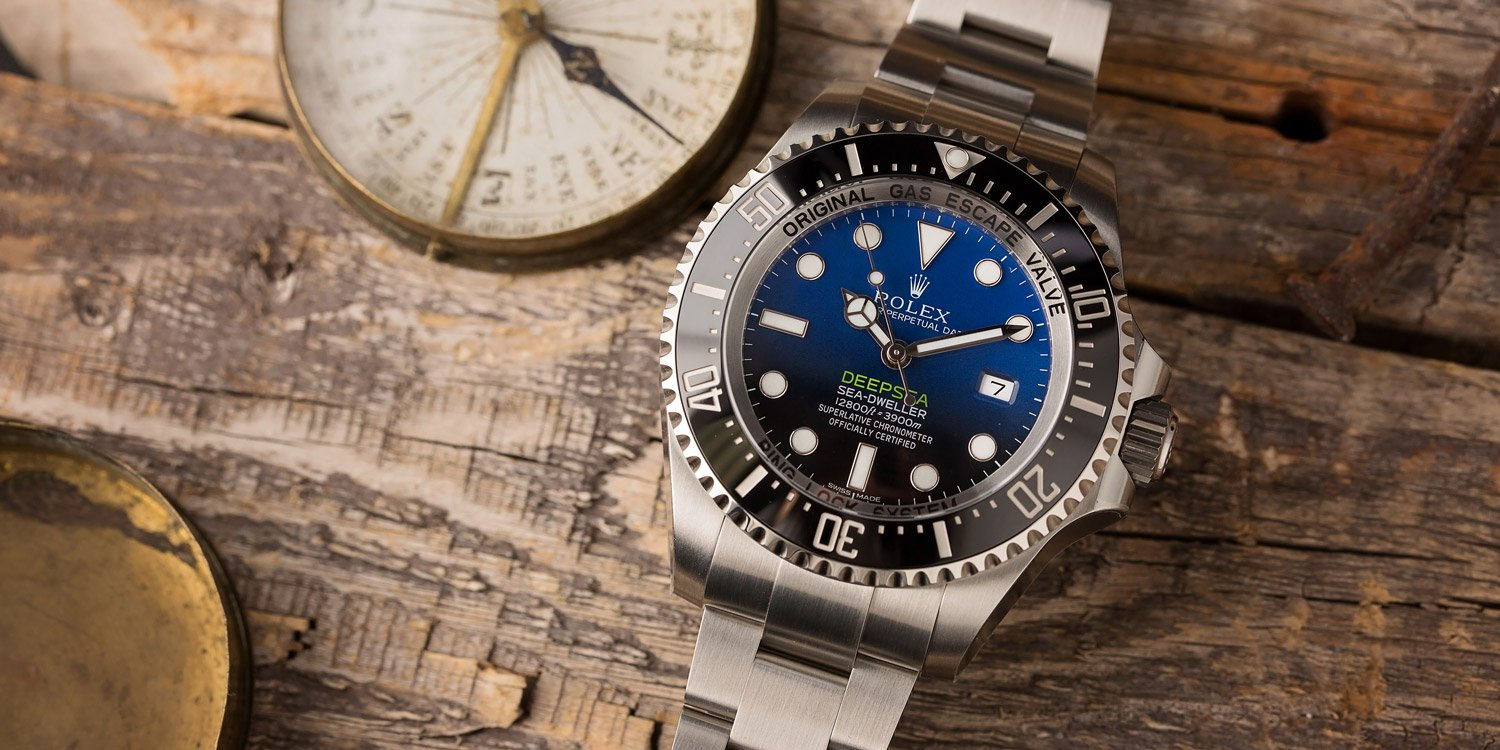 Sea-Dweller Deepsea D-Blue