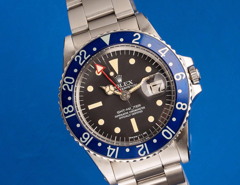 Rolex GMT Blueberry