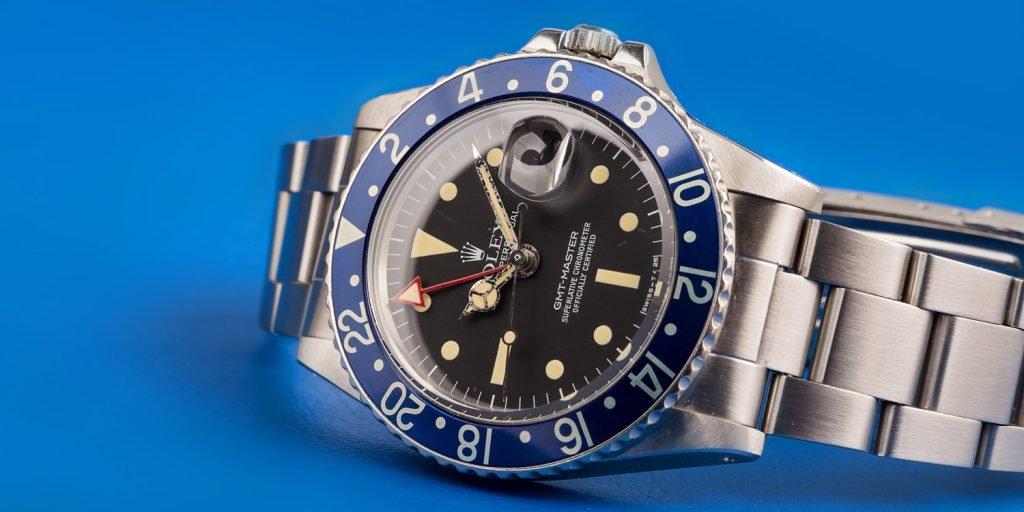 Rolex GMT 1675 Blueberry
