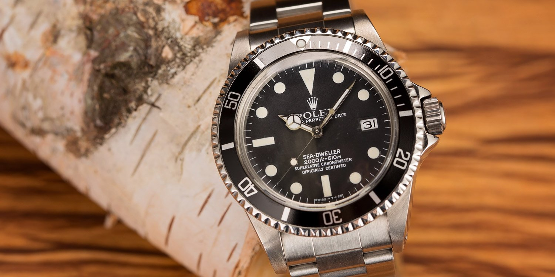 Rolex Sea-Dweller 1665 Tritium vs Rail Dial Guide