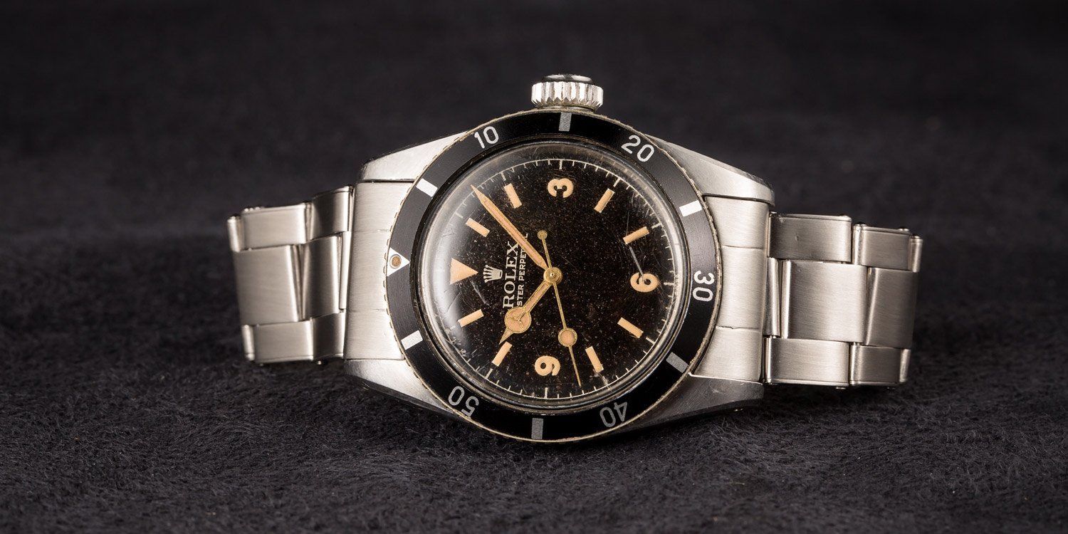 How a watch auction works vintage Submariner Rolex