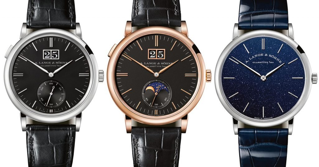 Lange & Sohne boasts elegant finishing balanced with timeless design