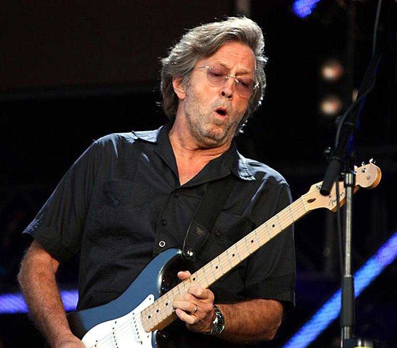 Eric Clapton wears the Milgauss 116400GV