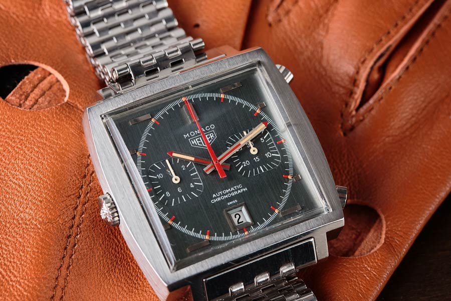 The Heuer Monaco is still one of the most iconic racing watches they ever made, even though it is no longer in production