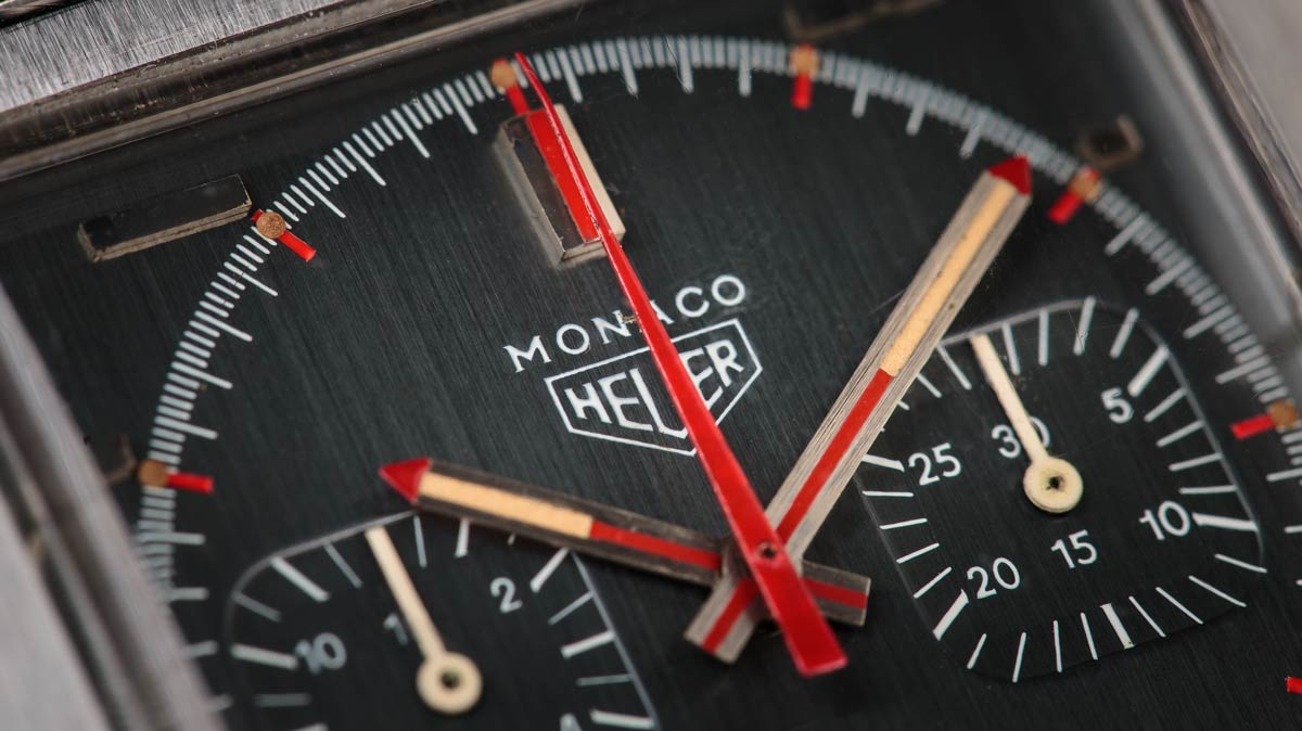 The Heuer Moncao - the watch that started them all