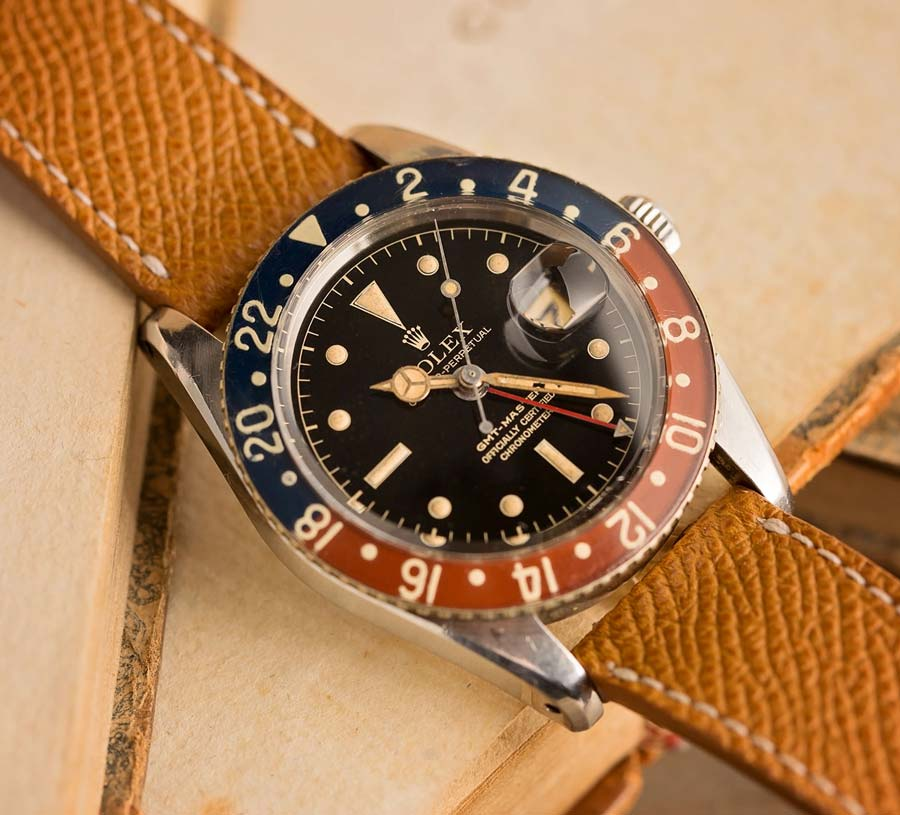 The Rolex GMT Master II