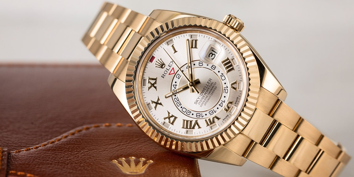The Rolex Sky-Dweller is one of the crown jewels of an already impressive catalogue of timepieces