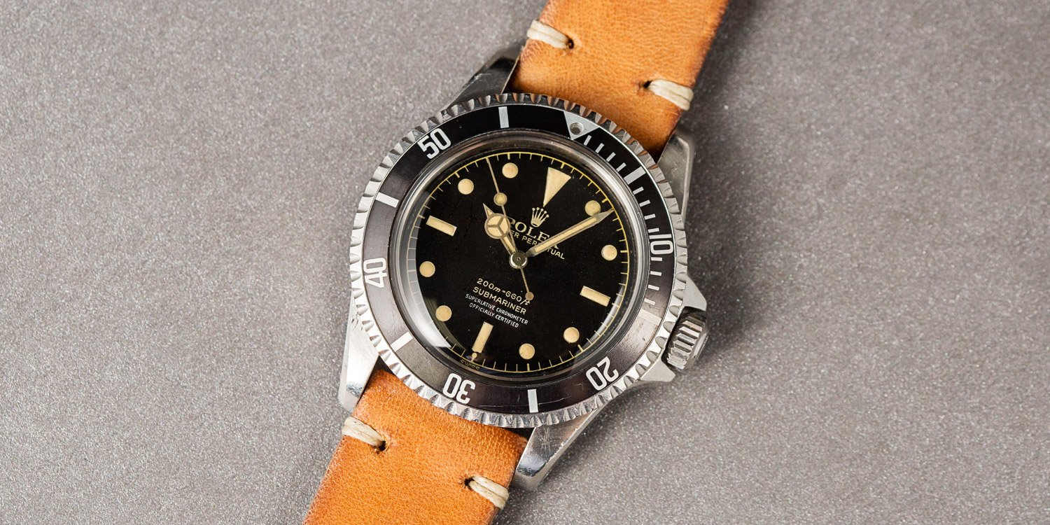 Rolex Submariner reference 5512 Glossy Gilt Dial