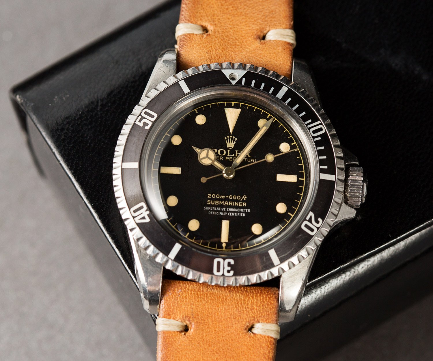 200m to feet Rolex Submariner 5512 meters first