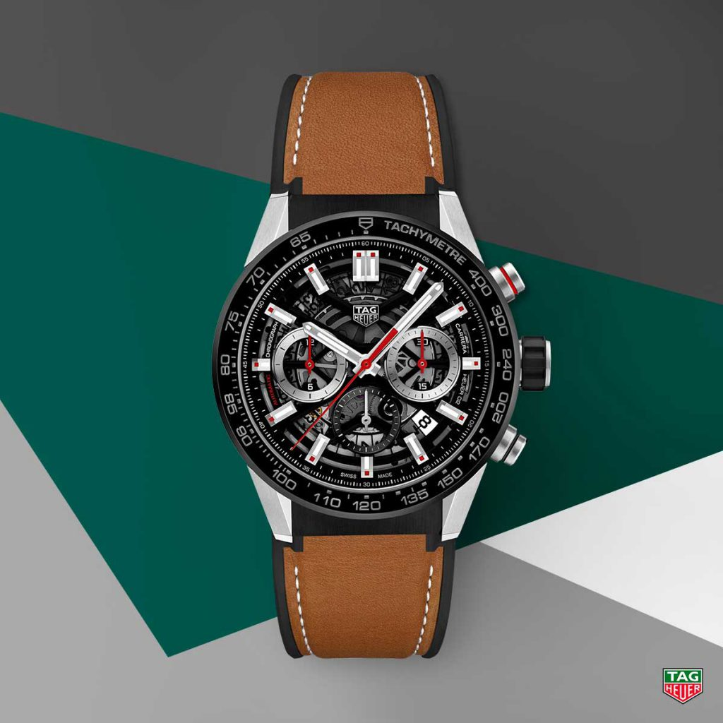 Tag Heuer, once a most fierce rival, is now part of the same watch group