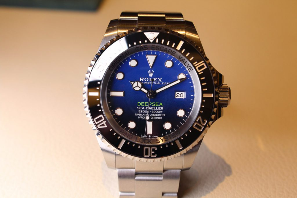 The Rolex SeaDweller made an appearance at Baselworld 2018
