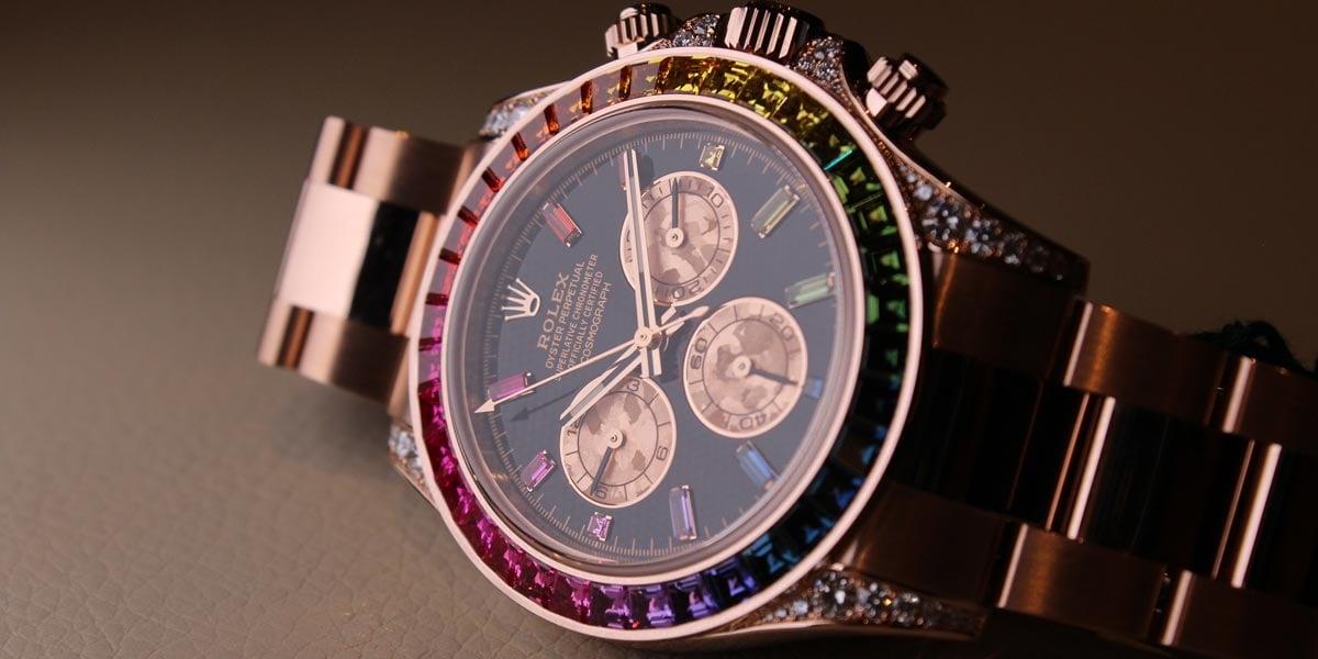 Rolex Rainbow Daytona 116595 RBOW