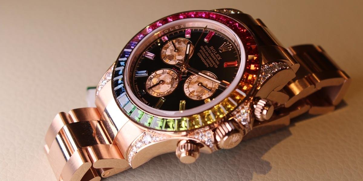 Rolex Rainbow Daytona Reference 116595 RBOW